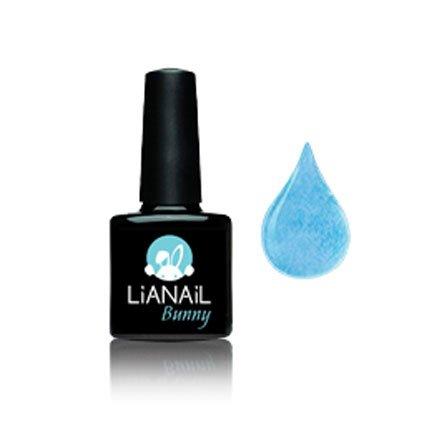 Lianail, Гель-лак Эффект кашемира BGSO-05 - Bunny Blue (10 мл.)Lianail<br>Гель-лак бирюзово-голубого оттенка с мягко выраженными микроворсинкми, плотный<br>