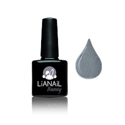 Lianail, Гель-лак Эффект кашемира BGSO-08 - Bunny Gray (10 мл.)Lianail<br>Гель-лак графитового оттенка с сильно выраженными микроворсинкми, плотный<br>