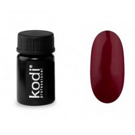 Kodi, Гель-краска №120 (4ml)Гель краски Kodi Professional<br>Гель-краска для дизайна без липкого слоя сливово-бордовая, без блесток и перламутра, 4 мл.<br>