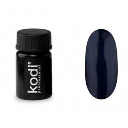 Kodi, Гель-краска №124 (4ml)Гель краски Kodi Professional<br>Гель-краска для дизайна без липкого слоя темно-синяя, перламутровая, 4 мл.<br>