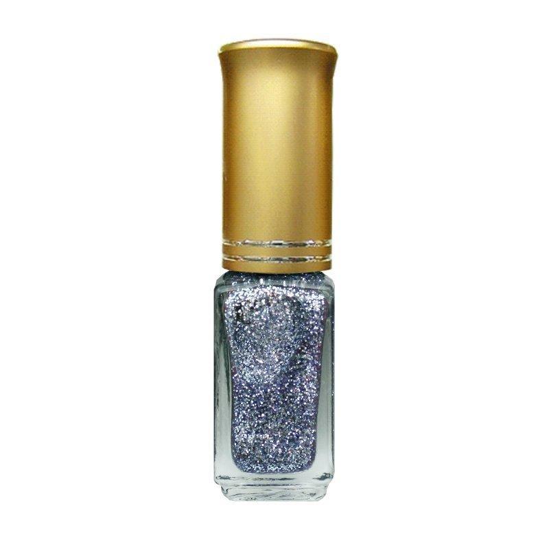 El Corazon Shaine Nail Art 07Лаки для дизайна с тонкой кистью El Corazon<br>Лак для дизайна ногтей светло-голоубой, с блестками, плотный. 5 ml.<br>