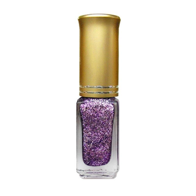 El Corazon Shaine Nail Art 09Лаки для дизайна с тонкой кистью El Corazon<br>Лак для дизайна ногтей сиреневый, с блестками, плотный. 5 ml.<br>