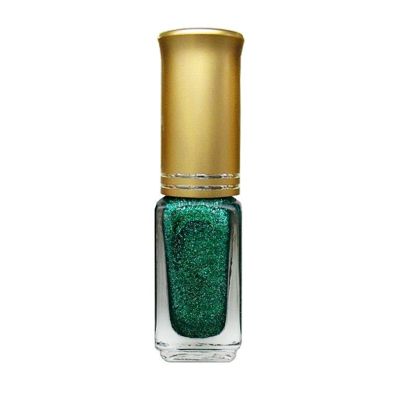 El Corazon Shaine Nail Art 11Лаки для дизайна с тонкой кистью El Corazon<br>Лак для дизайна ногтей изумрудно-зеленый, с блестками, плотный. 5 ml.<br>