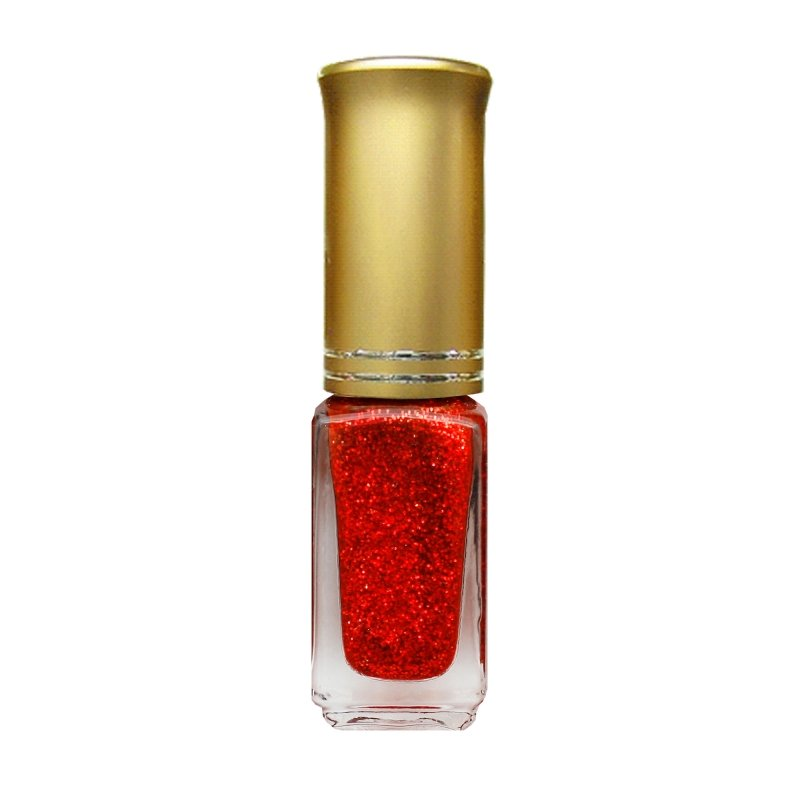 El Corazon Shaine Nail Art 14Лаки для дизайна с тонкой кистью El Corazon<br>Лак для дизайна ногтей ярко-красный, с блестками, плотный. 5 ml.<br>