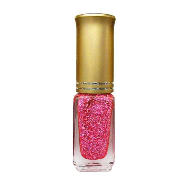 El Corazon Shaine Nail Art 54Лаки для дизайна с тонкой кистью El Corazon<br>Лак для дизайна ногтей розовый, с блестками, плотный. 5 ml.<br>