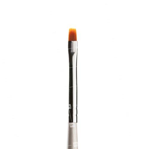 ruNail, Flat №2Кисти для дизайна<br>Плоская кисть RuNail из синтетического ворса (толокон) для дизайна и росписи<br>