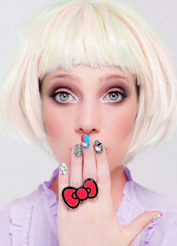 NCLA, Термопленка Hello Kitty 3-DАрт-стикеры NCLA<br><br>