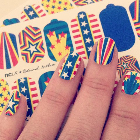 NCLA, Термопленка National AnthemАрт-стикеры NCLA<br><br>
