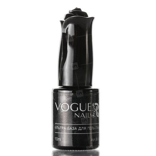Vogue Nails, Ультра база для гель-лака камуфлирующая (10 мл.)Vogue Nails<br>Каучуковая база густой консистенции, имеет универсальный камуфлирующийнежно розовый полупрозрачныйоттенок.<br>
