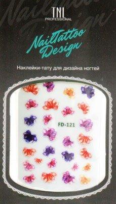 TNL, Наклейка-тату для дизайна FD-121Наклейка-тату для дизайна TNL<br>Наклейка-тату для дизайна<br>