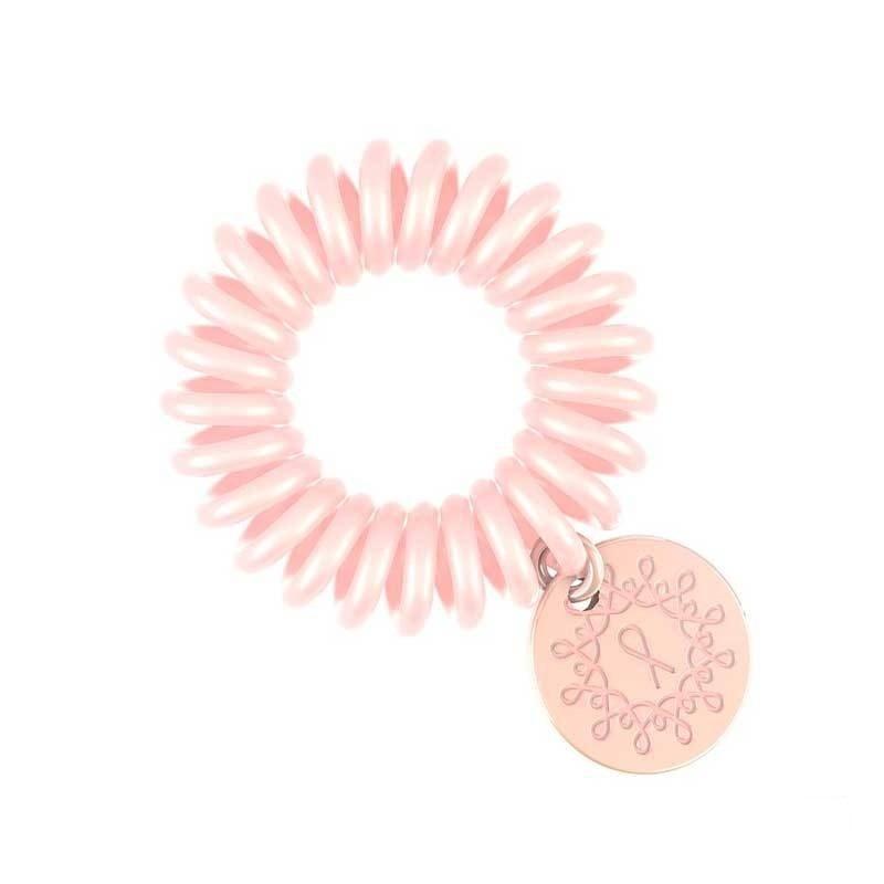 Invisibobble, Резинка-браслет для волос - ORIGINAL Pink HeroesРезинка-браслет Invisibobble<br>Резинки для волос Invisibobble нежно-розовый(1 шт.)<br>