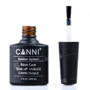 Canni, Rubber Base Coat - Каучуковое базовое покрытие (7.3 мл)