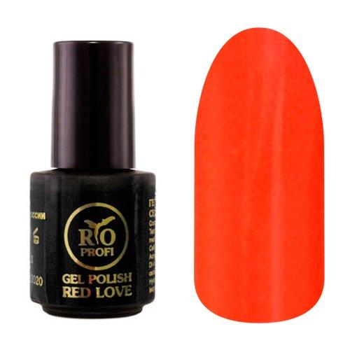 Rio Profi, Каучуковый гель-лак - Red Love №08 (3,5 мл.)Rio Profi<br>Гель-лак каучуковый, яркий красный, глянцевый, плотный<br>