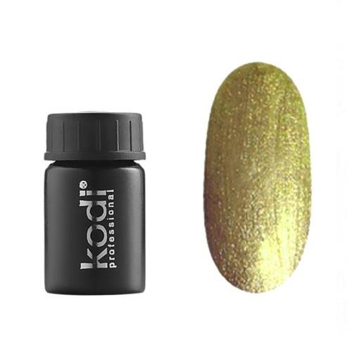 Kodi, Гель-краска №126 (4ml)Гель краски Kodi Professional<br>Гель-краска для дизайна без липкого слоя золотая, с блестками, 4 мл.<br>