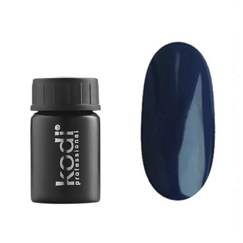 Kodi, Гель-краска №128 (4ml)Гель краски Kodi Professional<br>Гель-краска для дизайна без липкого слоя черно-синяя, без блесток и перламутра, 4 мл.<br>