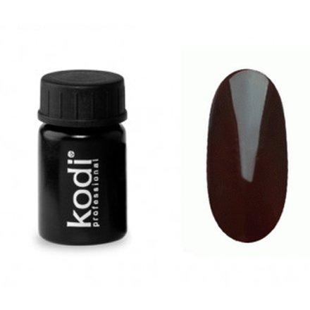 Kodi, Гель-краска №132 (4ml)Гель краски Kodi Professional<br>Гель-краска для дизайна без липкого слоя темно-коричневая, без блесток и перламутра, 4 мл.<br>