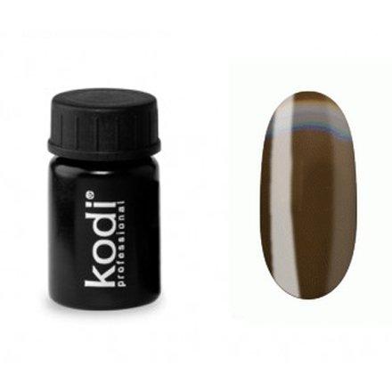 Kodi, Гель-краска №146 (4ml)Гель краски Kodi Professional<br>Гель-краска для дизайна без липкого слоя шоколадная, без блесток и перламутра, 4 мл.<br>