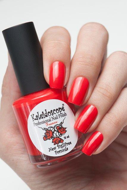 El Corazon, Kaleidoscope Красотека № 06Лаки Kaleidoscope<br>Лак«Всегда в моде». Холодный красный оттенок,плотный,без блесток и перламутра.Объем 15ml.<br>