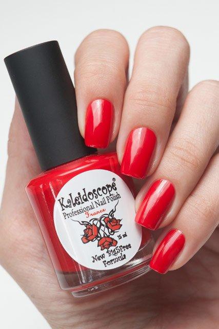 El Corazon, Kaleidoscope Красотека № 07Лаки Kaleidoscope<br>Лак«Разбитое сердце».Красно-малиновый,насыщенный, плотный,без блесток и перламутра.Объем 15ml.<br>