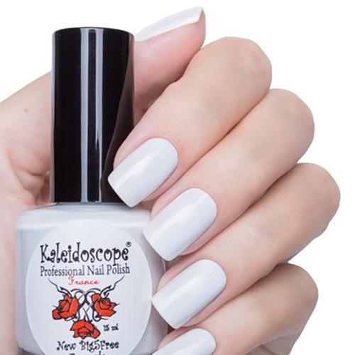 El Corazon, Kaleidoscope № IL-104 Тоже очень глянулся.Лаки Kaleidoscope<br>Лак для ногтей белый с серым отливым, без блесток и перламутра, плотный. Объем 15 мл.<br>