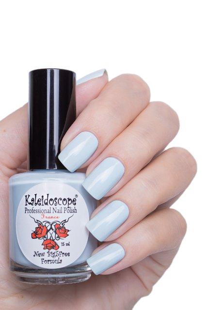 El Corazon, Kaleidoscope № IL-105 СимпатяшкаЛаки Kaleidoscope<br>Лак для ногтей бледно бирюзовый, без блесток и перламутра, плотный. Объем 15 мл.<br>