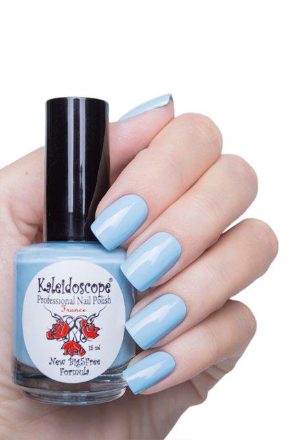 El Corazon, Kaleidoscope № IL-106 Какая красотень!Лаки Kaleidoscope<br>Лак для ногтей нежно-голубой, без блесток и перламутра, плотный. Объем 15 мл.<br>