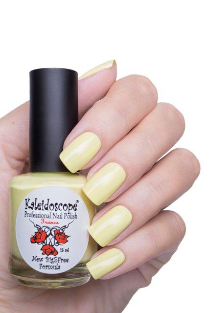 El Corazon, Kaleidoscope № IL-116 ЗацепилЛаки Kaleidoscope<br>Лак для ногтей нежно зеленый, без блесток и перламутра, плотный. Объем 15 мл.<br>