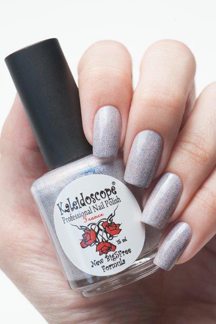 El Corazon, Kaleidoscope № SPR-02Лаки Kaleidoscope<br>ЛакГрезы о весне. Розовый с синими блестками,плотный. Объем 15 мл.<br>