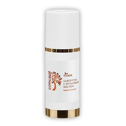 Concept, Сыворотка с Аргановым маслом (50 мл.)Масло для волос<br>Сыворотка питает и восстанавливает сухие ослабленные волосы.<br>