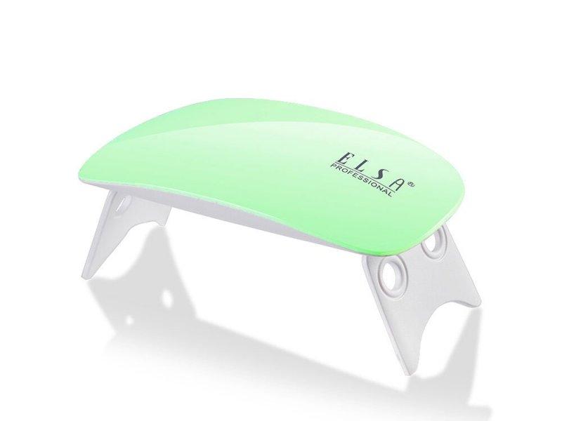 Elsa Professional, Лампа UV-LED Mini 9 ватт (салатовый корпус)LED-Лампы<br>USB Лампа UV/LED Mini 9 ватт (салатовый корпус)<br>
