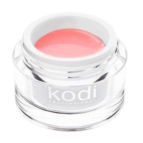 Kodi, UV Builder Gel Pink Haze - Прозрачно-розовый конструирующий гель  (28 ml.)Гели для наращивания Kodi Professional<br>Строительный гель, нежный прозрачно-розовый<br>