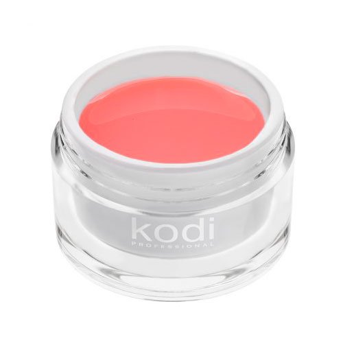 Kodi, UV Builder Gel Pink Haze - Прозрачно-розовый конструирующий гель (14 ml.)Гели для наращивания Kodi Professional<br>Строительный гель,нежный прозрачно-розовый<br>