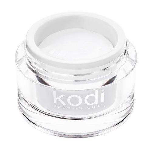 Kodi, UV Builder White Snow - Белый конструирующий гель (28 ml.)Гели для наращивания Kodi Professional<br>Строительный гель, снежно-белый<br>