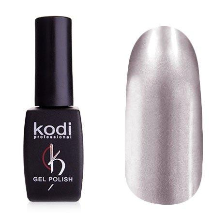 Kodi, Гель-лак Hollywood № H02 (8ml)Kodi Professional <br>Зеркальный гель-лак, серебряный, плотный<br>