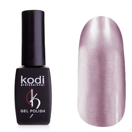 Kodi, Гель-лак Hollywood № H05 (8ml)Kodi Professional <br>Зеркальный гель-лак, светлый сиреневый, плотный<br>
