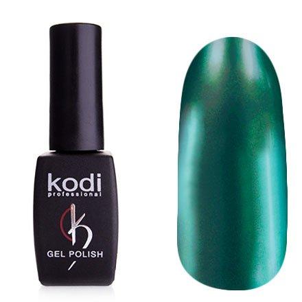 Kodi, Гель-лак Hollywood № H08 (8ml)Kodi Professional <br>Зеркальный гель-лак, бирюзовый, плотный<br>