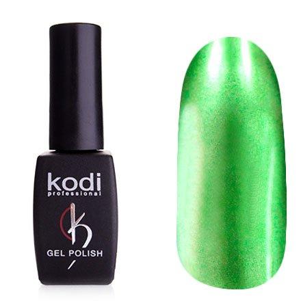 Kodi, Гель-лак Hollywood № H13 (8ml)Kodi Professional <br>Зеркальный гель-лак, зеленый, плотный<br>
