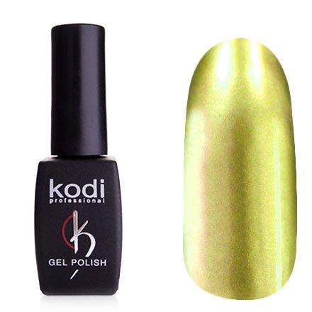 Kodi, Гель-лак Hollywood № H14 (8ml)Kodi Professional <br>Зеркальный гель-лак, желто-оливковый, плотный<br>
