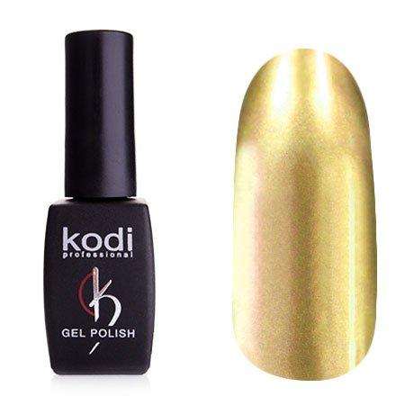 Kodi, Гель-лак Hollywood № H16 (8ml)Kodi Professional <br>Зеркальный гель-лак, светлый серебряно-оранжевый, плотный<br>