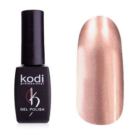 Kodi, Гель-лак Hollywood № H21 (8ml)Kodi Professional <br>Зеркальный гель-лак, светлый серебряно-розоватый, плотный<br>