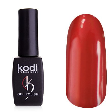 Kodi, Гель-лак Hollywood № H27 (8ml)Kodi Professional <br>Зеркальный гель-лак, розово-красный, плотный<br>
