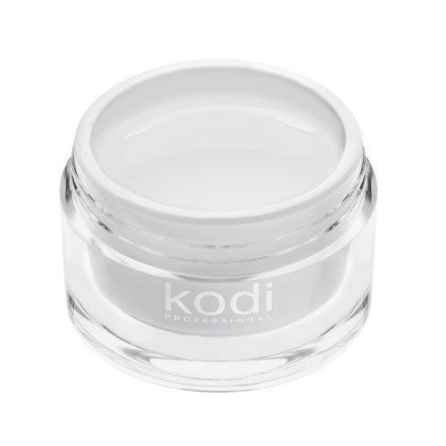 Kodi, UV Builder White Snow - Белый конструирующий гель (14 ml.)Гели для наращивания Kodi Professional<br>Строительный гель,снежно-белый<br>