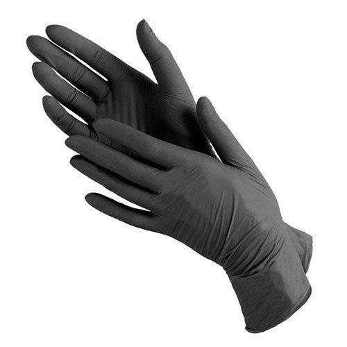 Benovy, Перчатки нитриловые (черные, размер XS, 100 шт. в уп.)Перчатки<br>Перчатки нитриловые смотровые неопудренные BENOVY<br>