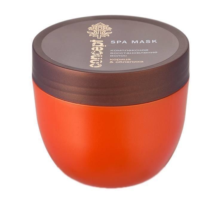 Concept, Маска Комплексное восстановление волос (Облепиха, Корица, 280 мл.)Маски для волос<br>Маска Комплексное восстановление волос<br>