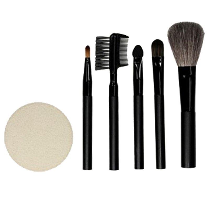 QVS, Набор для макияжа (10-1103)Кисти для макияжа<br>Набор для макияжа (кисточки: для пудры, теней, бровей, губной помады; аппликатор)<br>