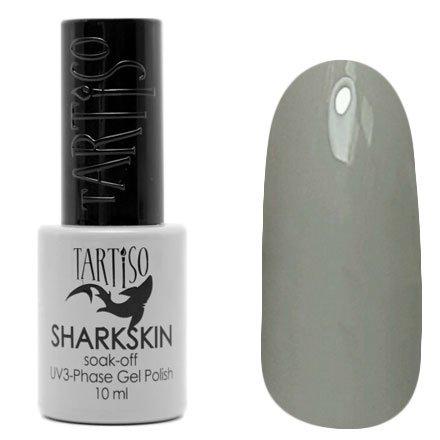 Tartiso, Гель-лак - SHARKSKIN TSHN-04 (10 мл.)Tartiso <br>Гель-лак, теплый серый, глянцевый, без блесток и перламутра, плотный<br>
