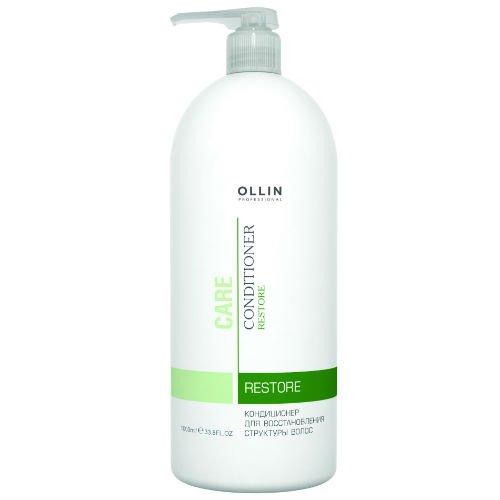 OLLIN, Кондиционер Care, для восстановления структуры волос, 1000 млБальзамы и Кондиционеры<br>Кондиционер для восстановления структуры волос<br>