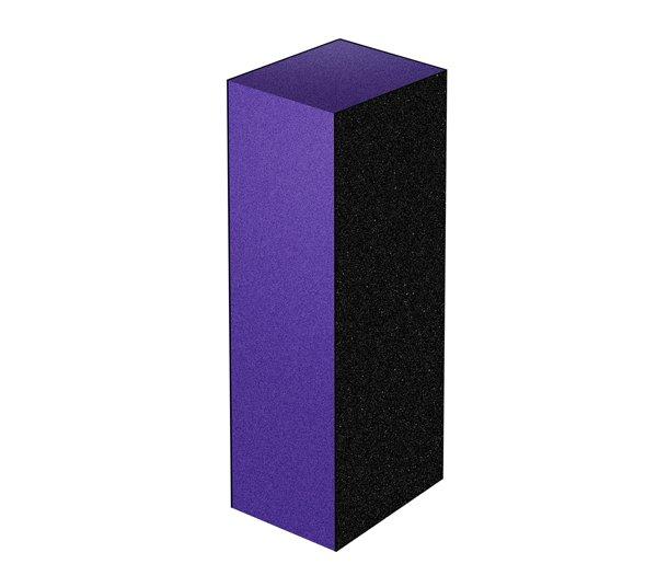 ruNail, Шлифовщик для искусственных ногтей (фиолетовый) 150х150х100Полировщики и баффы<br>Шлифовщик для искусственных ногтей предназначен для шлифовки искусственных ногтей. Абразивность: 150/150/100<br>