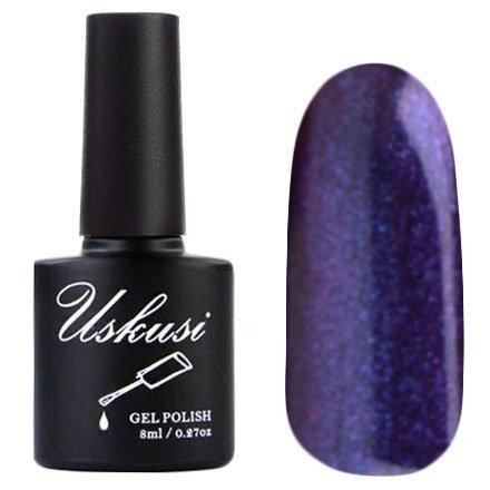 Uskusi, Гель-лак №126 (8 мл.)Uskusi<br>Гель-лак сине-фиолетовый, с микроблеском, плотный<br>