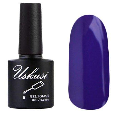 Uskusi, Гель-лак №22 (8 мл.)Uskusi<br>Гель-лак фиолетовый, без блесток и перламутра, плотный<br>